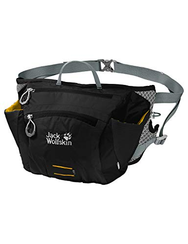 Jack Wolfskin Cross Run 2 Gürteltasche, Black, 33 x 23 x 13 cm -