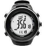LISABOBO @ relojes de los deportes los hombres de la moda informal altímetro barómetro del reloj del compás del relogio masculino EZON h011e11