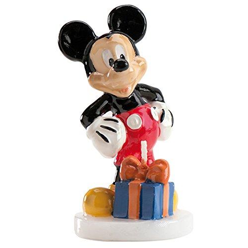 Dekora Bougie Personnage Mickey 35 g - Lot de 2
