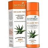 Biotique Bio Aloe Vera Face & Body Sun Lotion Spf 30 Uva/Uvb Sunscreen For Normal To Oily Skin In The Sun, 120ML