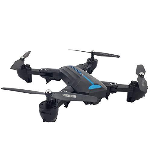 DHHZRKJ Drohne mit Quadrocopter 1080P-Kamera, WiFi, EIN-Knopf-Rücklauf, Höheneinstellung, Headless-Modus, Fixpunkt-Surround für iPhone Android (Hubschrauber I Phone)