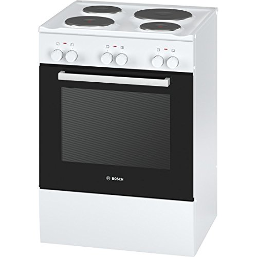 Bosch HSA720120 cooker - cookers (freestanding, Medium, Electric, Sealed plate, Enamel steel, A)
