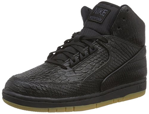 Nike Air Python Prm Herren Basketballschuhe Schwarz (Black/Gum Light Brown)