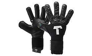 T1TAN Torwarthandschuhe für Erwachsene, Tormannhandschuhe Herren Innennaht und 4mm Profi Grip - Diverse Größe und Farben