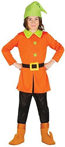 Fancy Me Jungen MÄDCHEN Kinder ZWERG GNOME TV Buch Film Welttag des Buches Woche Kostüm 3-9 Jahre - 7-9 Years (Kostüm Gnome Kind)