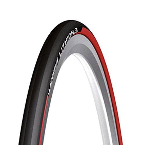 Michelin 0123l3r Fahrradreifen, Unisex Erwachsene, Schwarz/Rot Preisvergleich