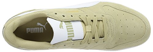 Puma Icra Trainer SD, Baskets Basses Mixte Adulte, Beige/Blanc Beige (Pale Khaki-puma White 25)