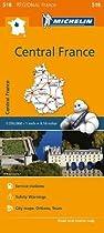 Centre - Michelin Regional Map 518
