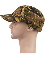 OneTigris táctica ajustable camuflaje sombrero caza de camuflaje Gorra de béisbol, A