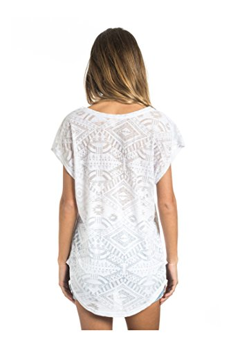 Rip Curl Damen T-Shirt Anam Tee weiß - Weiß (Optical White)