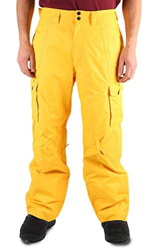 Two bare feet da uomo racchette da sci e snowboard, pantaloni, uomo, blizzard, sun yellow, l