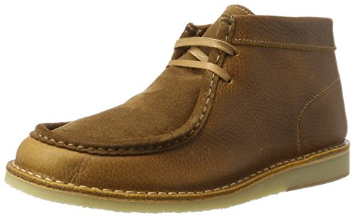 Selected Herren SHHRONNI Mix Boot Klassische Stiefel, Braun (Cognac), 45 EU -