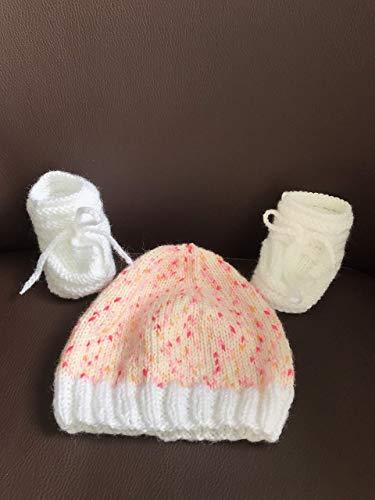 Judy Schuhe - Baby Mütze/Schuhe Erstausstattung Gr. 0-3