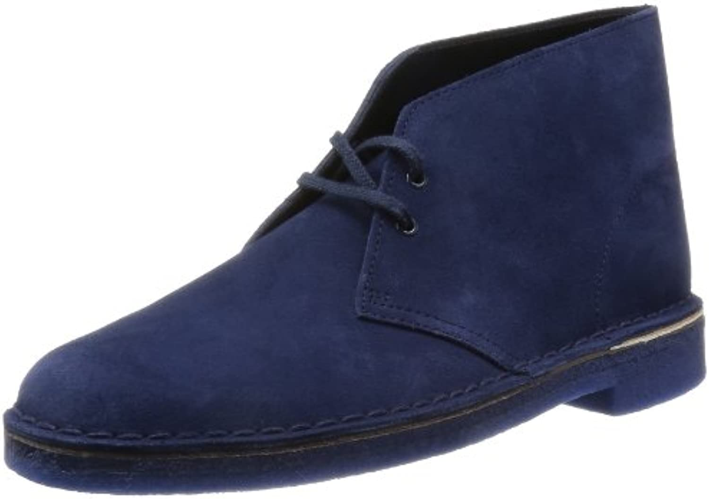 Clarks - Botas de ante para hombre azul azul marino