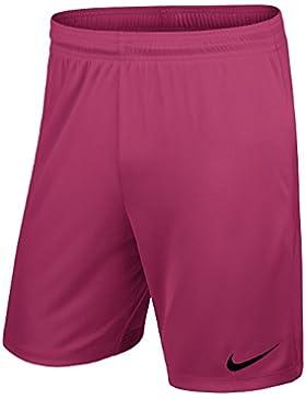 Nike YTH Park II Knit Short WB - Pantalón Corto para Niño, Color Rosa/Negro (Vivid Pink/Black), Talla M