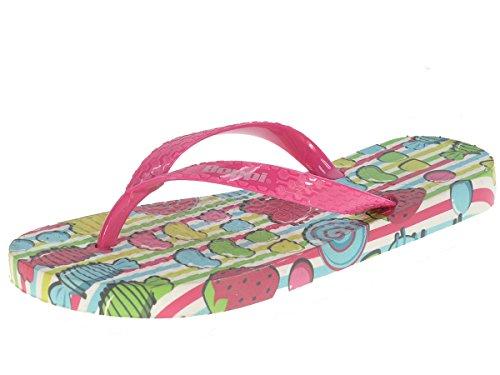 Beppi Mädchen Strandschuhe Zehentrenner Badeschuhe Rosa