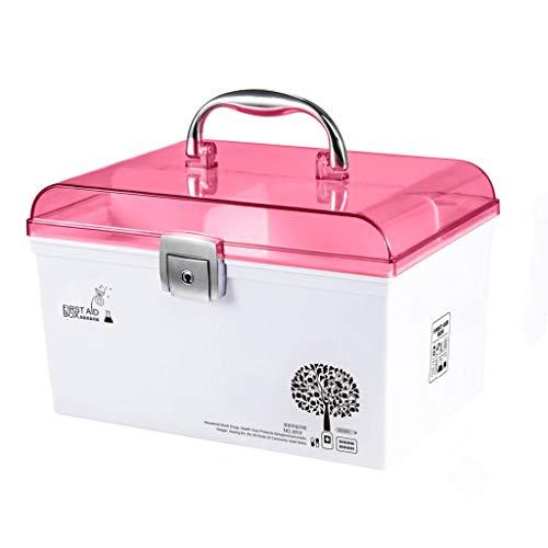 Medizin-Box Kit Familie Medizin Schrank große Kinder Medizin Brust Erste-Hilfe-Kit Medizin Aufbewahrungsbox Medizinische Box Hause Kleine