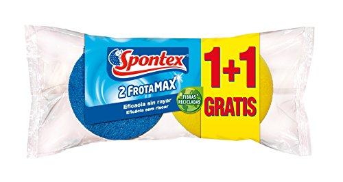 spontex-2-spugne-abrasive-salvaunghie-fibra-blu-non-graffiano