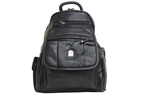 Shenky Phoenix Rucksack Handtaschen diverse Styles Schwarz B220