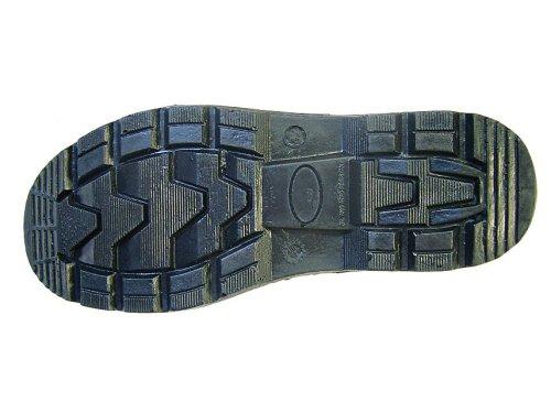 Scan Chaussures montantes noires avec passepoil réfléchissant Noir