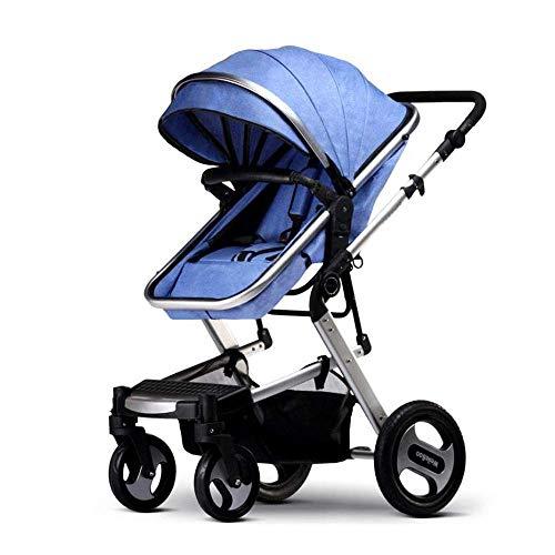 Zdw Cochecito de niño recién nacido y del niño - Convertible cuna cochecito compacto único carro...