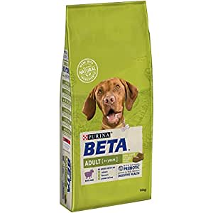 PURINA BETA Adult Dry Dog Food with Lamb, 14 kg