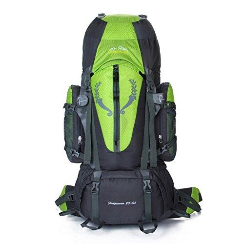 Sincere® Package / Sacs à dos / Portable / Ultraléger Grande capacité alpinisme sac à dos / sports de plein air / sacs / sac à dos de camping 80L-vert 90L