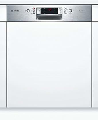 Bosch SMI69N05EU Geschirrspüler, integrierbar, A++, 60cm Breite, acier affiné
