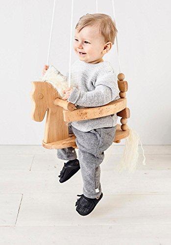 hessnatur Baby Schlupfschuh aus weichem Leder Marine