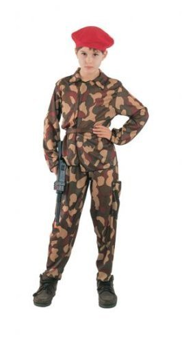 Boys Fancy Dress Costume Special Forces Medium Military Army War by fancy dress (Boys Kostüm Forces Special)