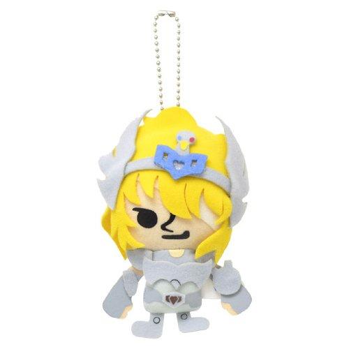 Saint Seiya x Pansonwakusu cucire mascotte palla catena ghiacciaio (Giappone import / Il pacchetto e il manuale sono scritte in giapponese)