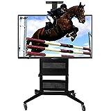 KBKG821 TV LCD Rack Mobile Display Stand Millet Hisense Landing Rack attività Vertical Carrello Mesh Disegno del Cuscinetto di Peso