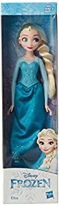 DISNEY Frozen Elsa Fashion Doll with Long Blonde Hair and Movie-Inspired Outfit from Frozen - Toy for Kids 3 Years Old and Up