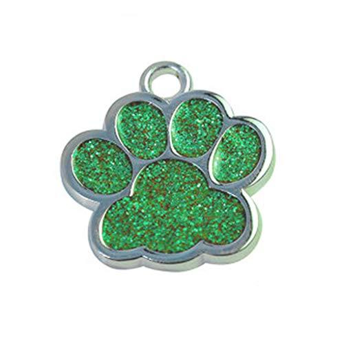 Hawkimin hundeanzug Niedliche Mini Shine Paw Dog Cat ID Namensschilder Pet Schmuck Halskette