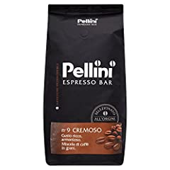 Idea Regalo - Pellini Caffè, Caffè in Grani Pellini Espresso Bar N. 9 Cremoso, 1 Kg