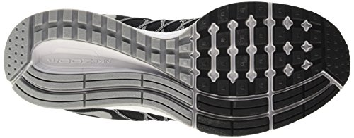 Nike Herren Air Zoom Pegasus 32 Flash Trainingsschuhe Negro / Plata / Gris (Blk / Rflct Slvr-Pr Pltnm-Cl Gry)
