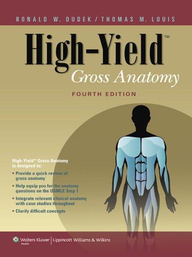 High-Yield Gross Anatomy (High-Yield Series)