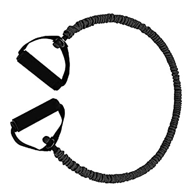 Mture Fitnessbänder Widerstandsbänder Yogagurte Strap Belt Body-Tube Three-In-One Strap 100 % Naturlatex beschichtete Röhren Ideal für Heimfitness, Yoga, Pilates - Grün