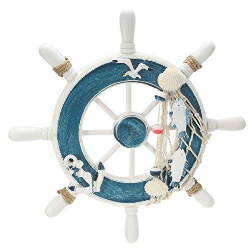 king-do-way-23cm-gouvernail-de-bateau-en-bois-accessoire-deco-marin-decoration-mediterraneen-pour-ma