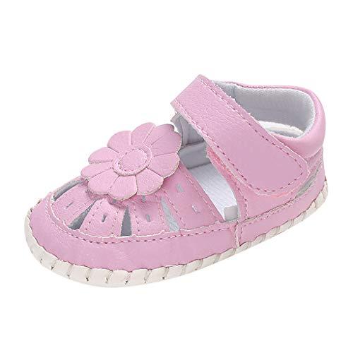 df1e94218eeb40 Chaussures Enfants ADESHOP Mode BéBé Filles Couleur Unie Fleur DéCoratif  Fond Mou Sandales Chaussures AntidéRapantes Confortable