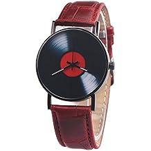 JiaMeng Reloj con Movimiento Cuarzo japonés de Pulsera de Cuarzo analógico de Lujo de los Hombres