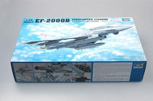 Trumpeter 2279 EF-2000B Eurofighter Typhoon - Caza importado de Alemania