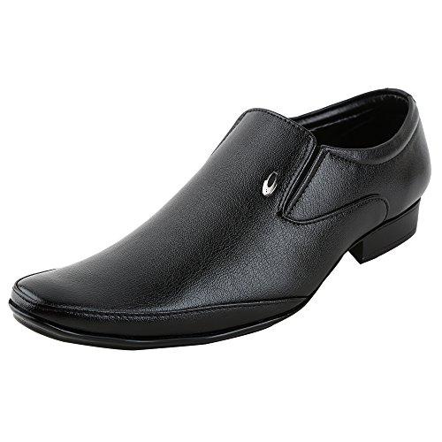 Freedom Daisy Men Black Stylish Slip-On Style Formal Shoes