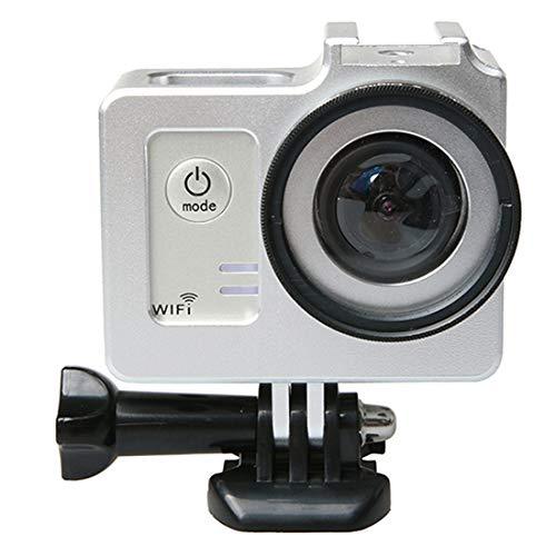 DIGITAL SPORTS CAMERA METAL CASES WBD Universal Aluminium Alloy Schutzhülle mit 40,5 mm Objektivdurchmesser und Objektivschutzkappe für SJCAM SJ5000 & SJ5000X & SJ5000 Wifi Sport Action Camera (Schwar Alloy Digital Kamera
