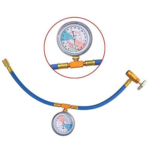 Preisvergleich Produktbild GBESTE R134A Klimaanlage Kältemittel Aufladeschlauch mit Messgerät,  für alle Fahrzeuge
