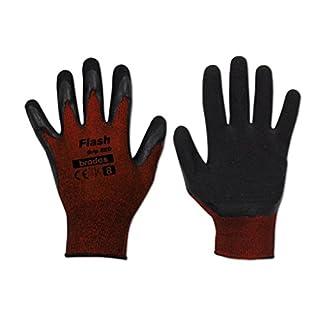 12 Paar Arbeitshandschuhe Latexbeschichtung Gr. 11 Schutzhandschuhe Handschuhe