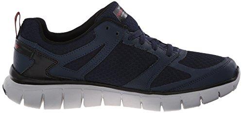 Skechers - Skech-flex Power Alley, Scarpe sportive outdoor Uomo Blu (Blue (Navy Nvrd))
