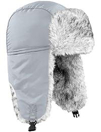 Beechfield - Gorro aviador térmico Modelo Sherpa Trapper Unisex hombre mujer