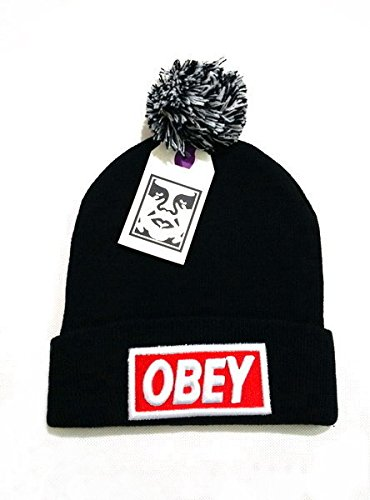 Obey Unisex Hip Hop Hip Hop Street Fans Support Cappelli Berretto lavorato a maglia