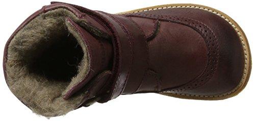 Bisgaard Stiefel, Bottes de Neige mixte enfant Rot (812 Plume)